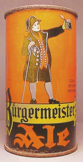 Burgermeister Beer Can From San Francisco