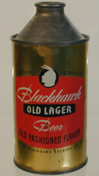 Old fashioned beer can 3