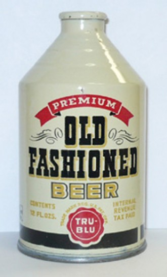Old fashioned beer can 13
