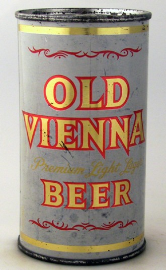 Old Vienna Premium Light Lager Beer Can From Grace Bros