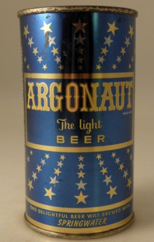 Argonaut Light Beer Can