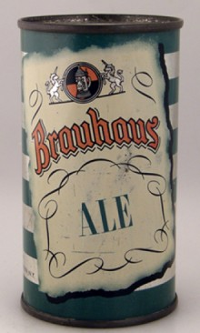 Brauhaus Ale Beer Can