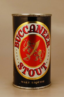 Buccaneer Stout Malt Liquor Beer Can