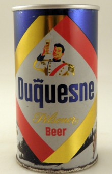 Duquesne Pilsener Beer Can