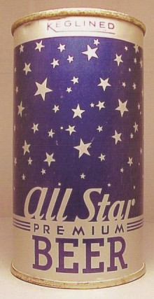 All Star Beer Can