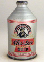Chester Pilsner Beer Can