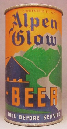 Alpen Glow Beer Can
