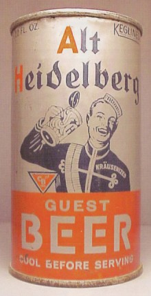 Alt Heidelberg Beer Can