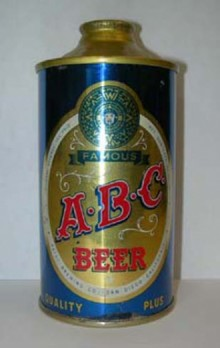 ABC Beer Can