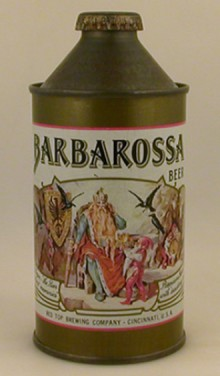 Barbarossa Beer Can