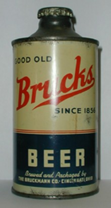 Brucks Beer Can