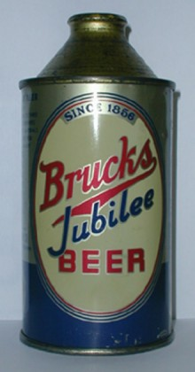 Brucks Jubilee Beer Can