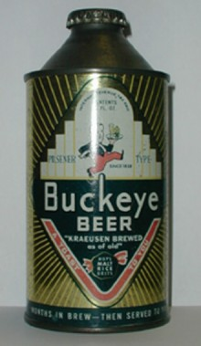Buckeye Beer Can