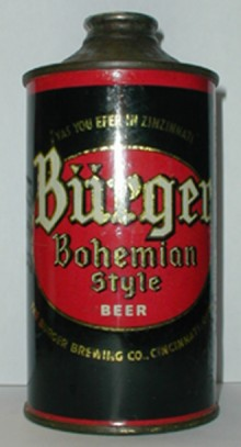 Burger Bohemian Style Beer Can