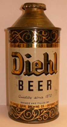 Diehl Beer Can
