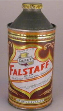 Falstaff Beer Can from Falstaff Brewing Corp.