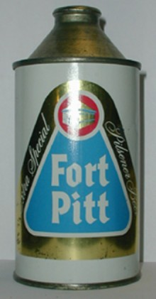 Fort Pitt Beer Can