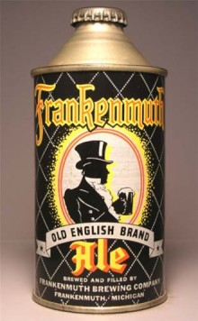 Frankenmuth Old English Ale Beer Can