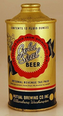 Gold Seal Beer Can