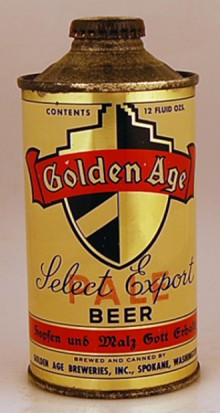 Golden Age Pale Beer Can