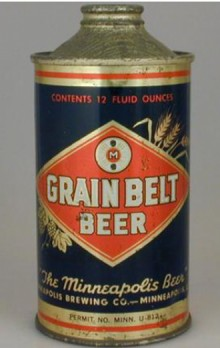 Grain Belt Beer Can