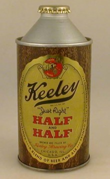 Keeley Half and Half Beer Can