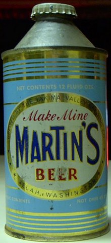 Martins Beer Can
