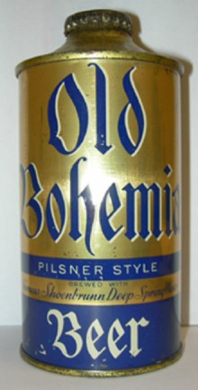 Old Bohemian Pilsner Style Beer Can