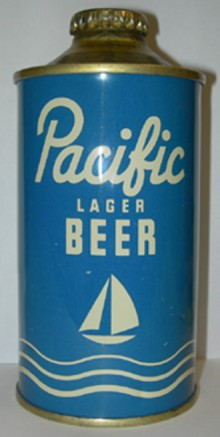 Pacific Lager Beer Can