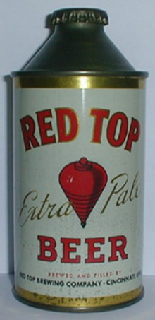 Red Top Extra Pale Beer Can