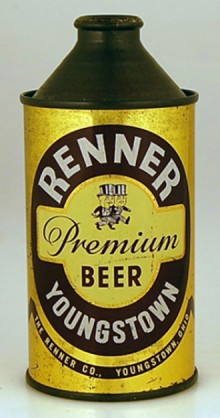 Renner Premium Beer Can