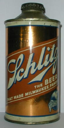 Schlitz Vitamin D Beer Can