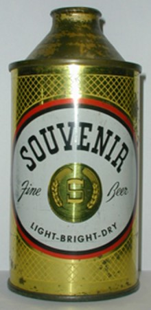 Souvenir Fine Beer Can