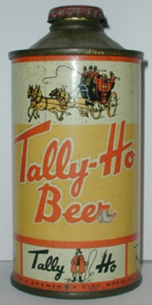 Tally Ho Beer Can