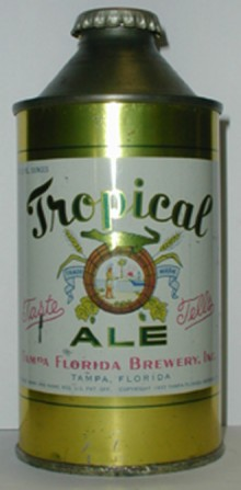 Tropical Ale Beer Can