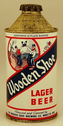 Wooden Shoe Lager Beer Can