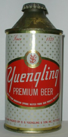 Yuengling Premium Beer Can