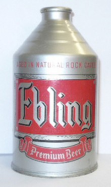 Ebling Beer Can