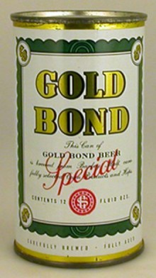 Gold Bond Beer Can