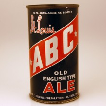 ABC St. Louis Ale Beer Can