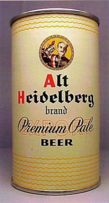 Alt Heidelberg Export Pale Beer Can