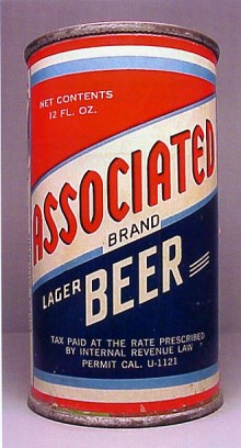 Associated Lager Beer Can