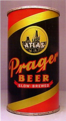 Atlas Prager Beer Can
