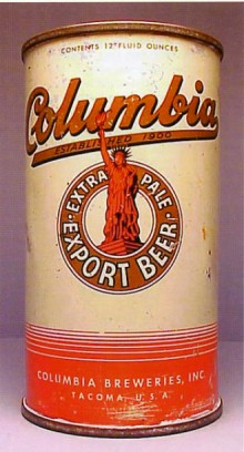 Columbia Extra Pale Export Beer Can