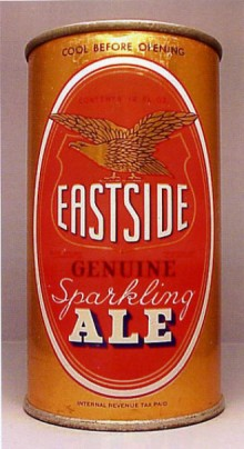 Eastside Sparkling Ale Beer Can