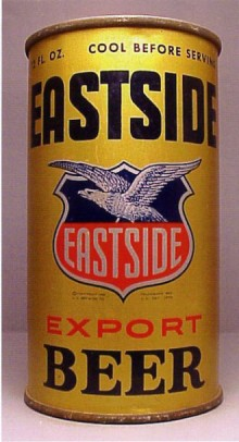 Eastside Export Beer Can