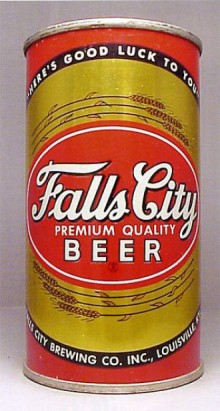 Falls City Premium Quality Beer Can