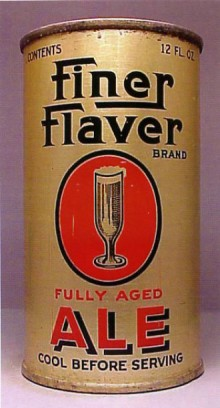 Fine Flaver Brand Ale Beer Can