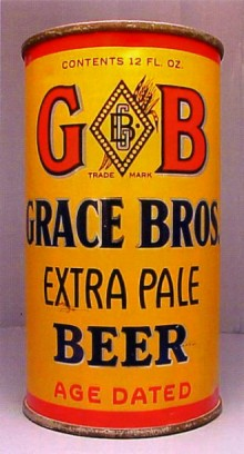 Grace Bros Extra Pale Beer Can
