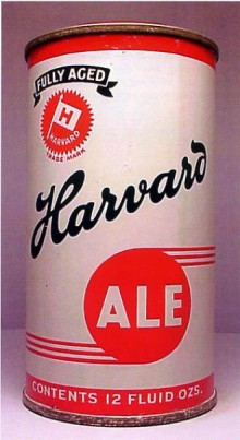 Harvard Ale Beer Can